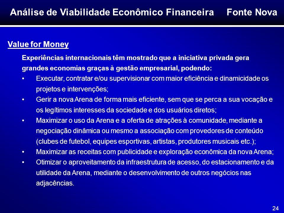 Análise de Viabilidade Econômico Financeira