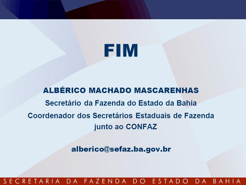 FIM ALBÉRICO MACHADO MASCARENHAS