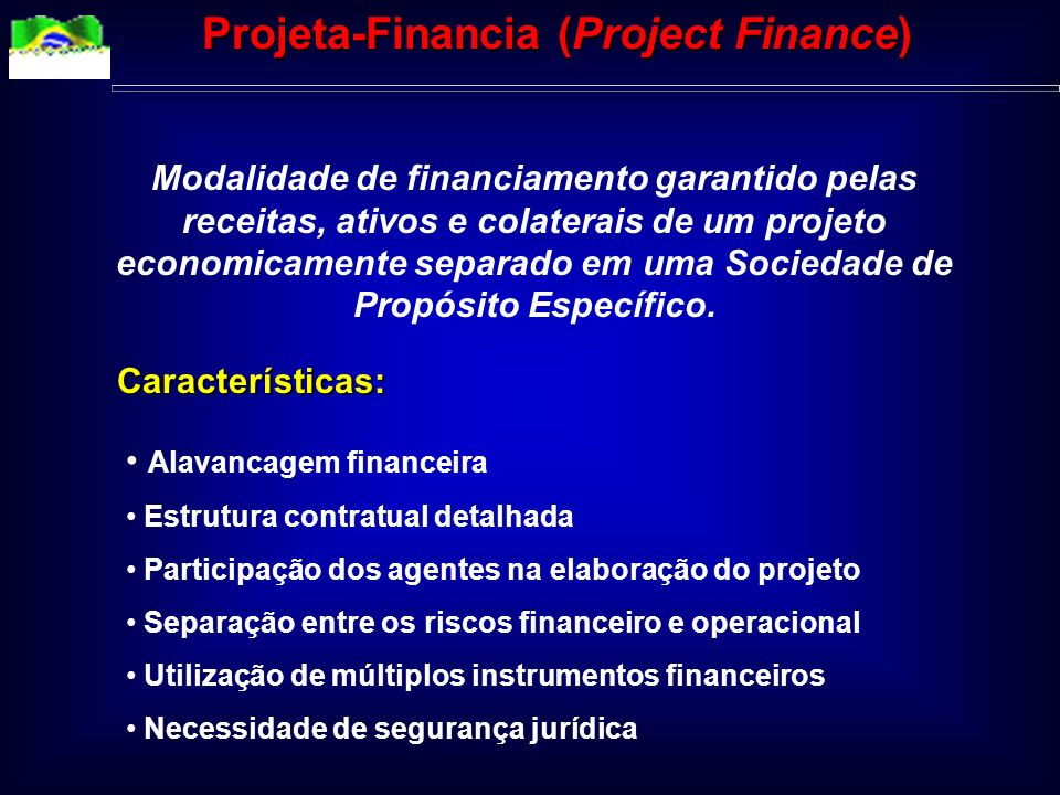 Projeta-Financia (Project Finance)