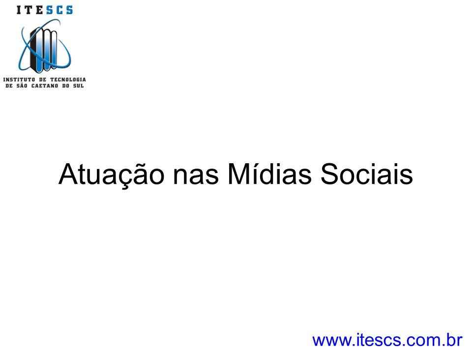 Atuação nas Mídias Sociais