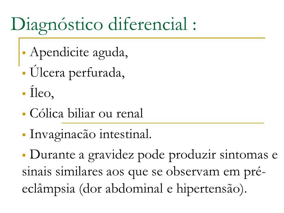 Diagnóstico diferencial :