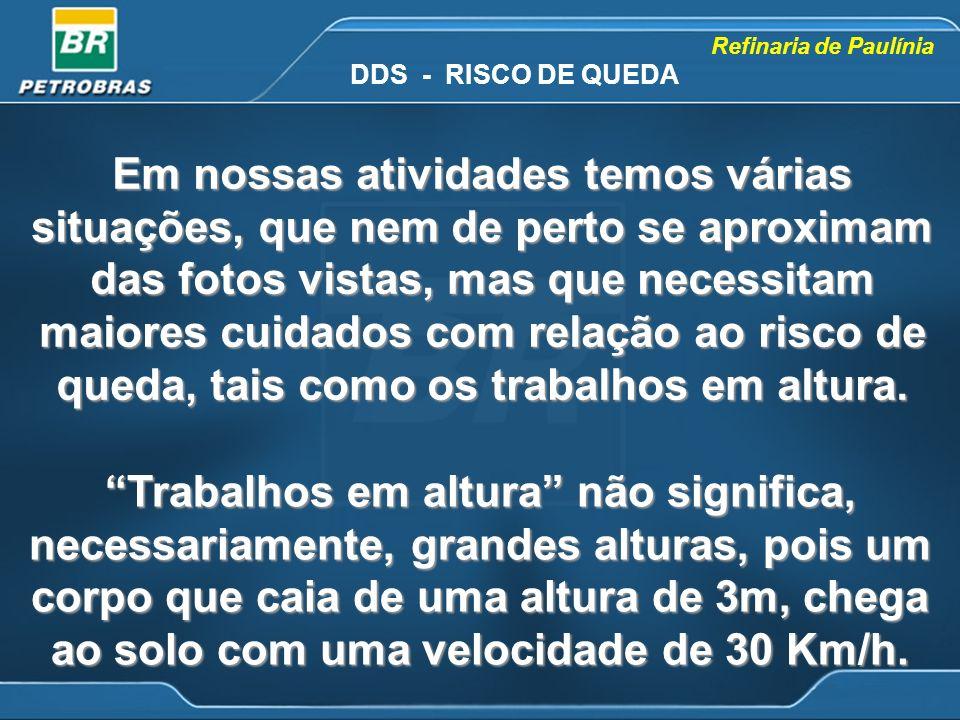 DDS - RISCO DE QUEDA