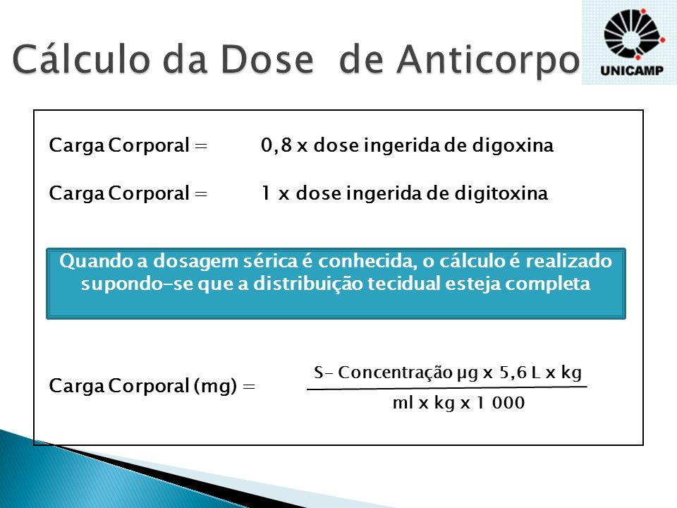 Cálculo da Dose de Anticorpo