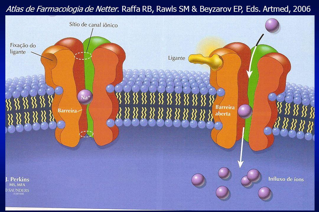 Atlas de Farmacologia de Netter. Raffa RB, Rawls SM & Beyzarov EP, Eds
