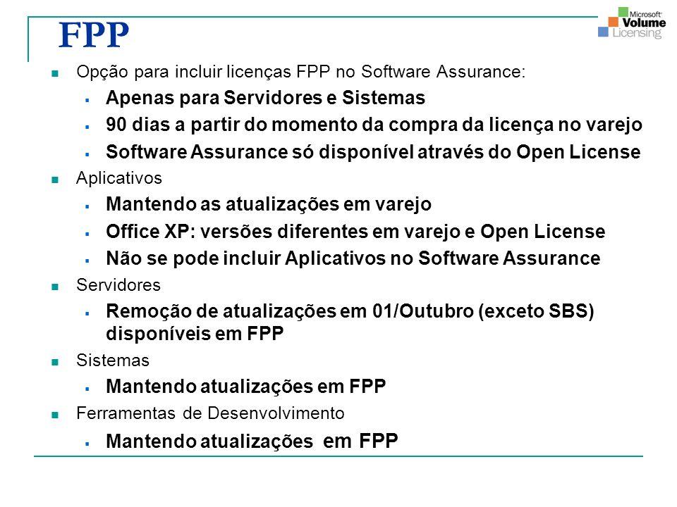 FPP Apenas para Servidores e Sistemas