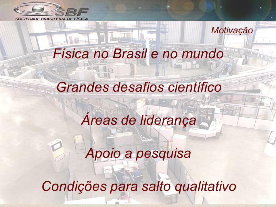 Física no Brasil e no mundo Grandes desafios científico