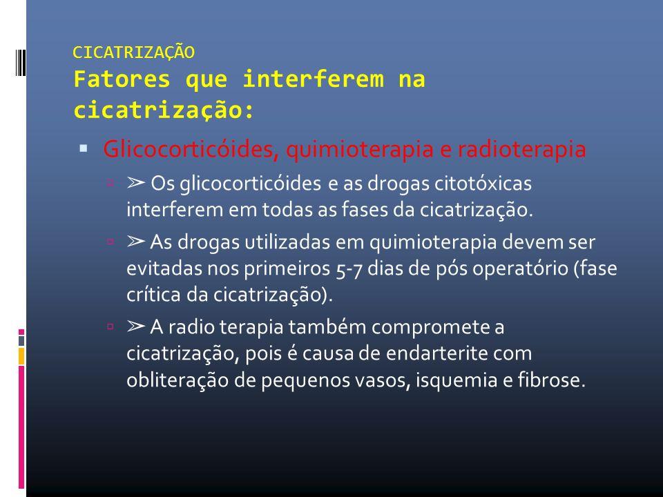Glicocorticóides, quimioterapia e radioterapia