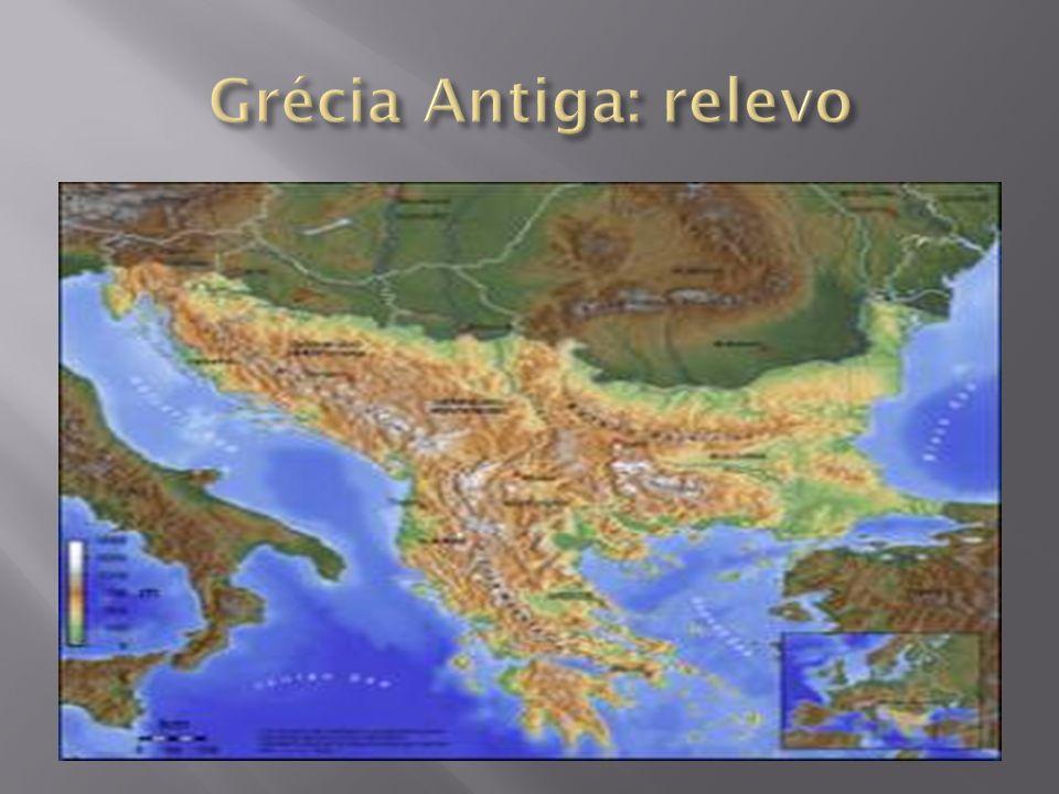 Grécia Antiga: relevo