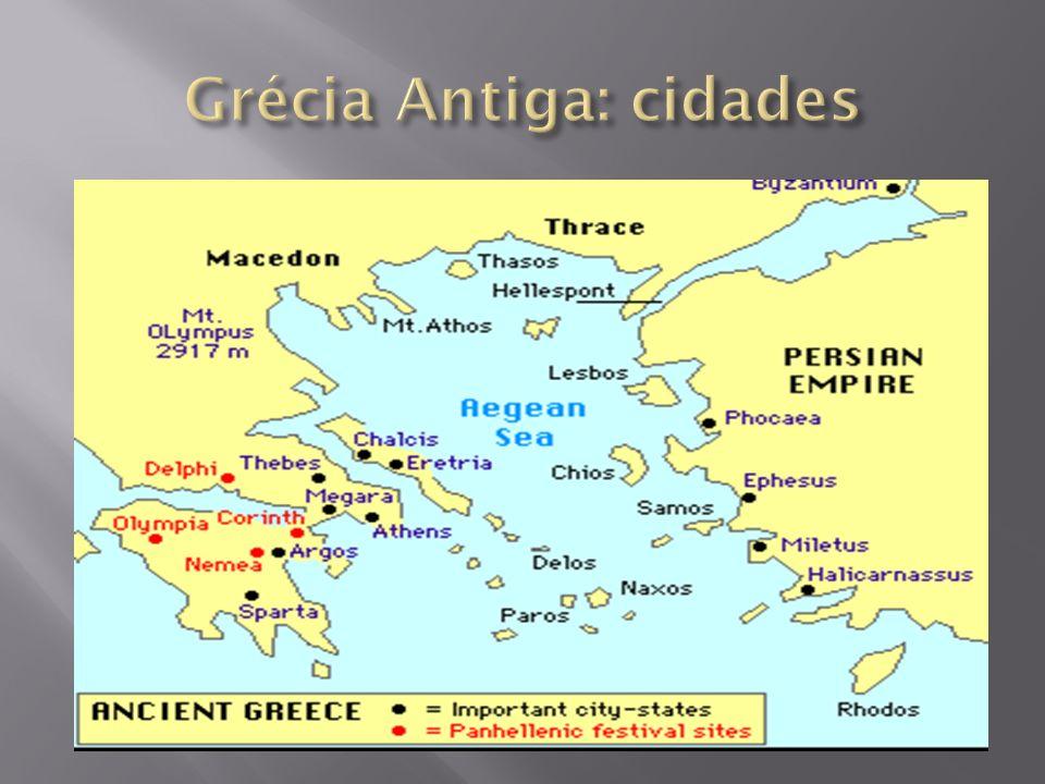 Grécia Antiga: cidades