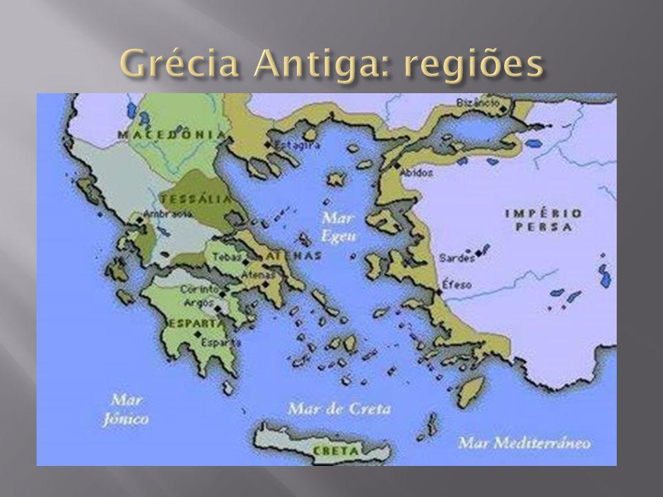Grécia Antiga: regiões