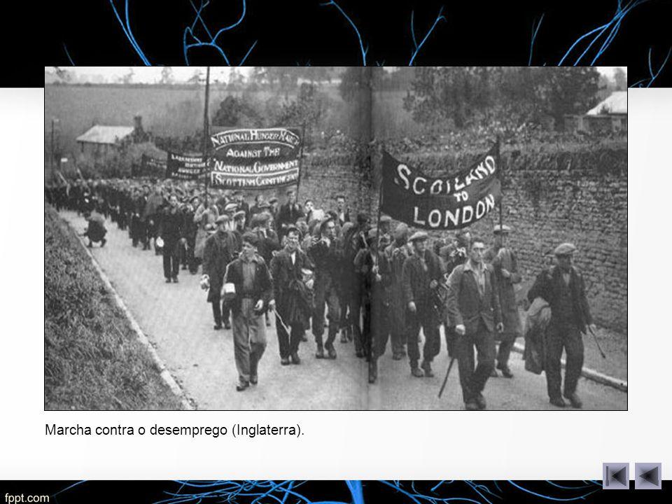 Marcha contra o desemprego (Inglaterra).