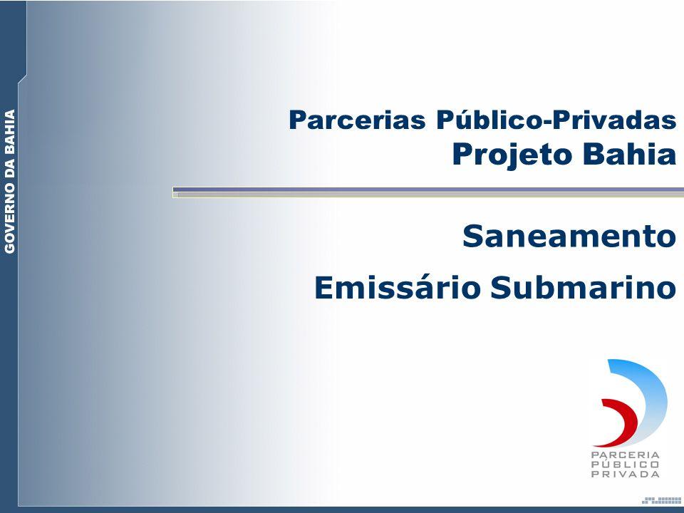 Projeto Bahia Saneamento Emissário Submarino