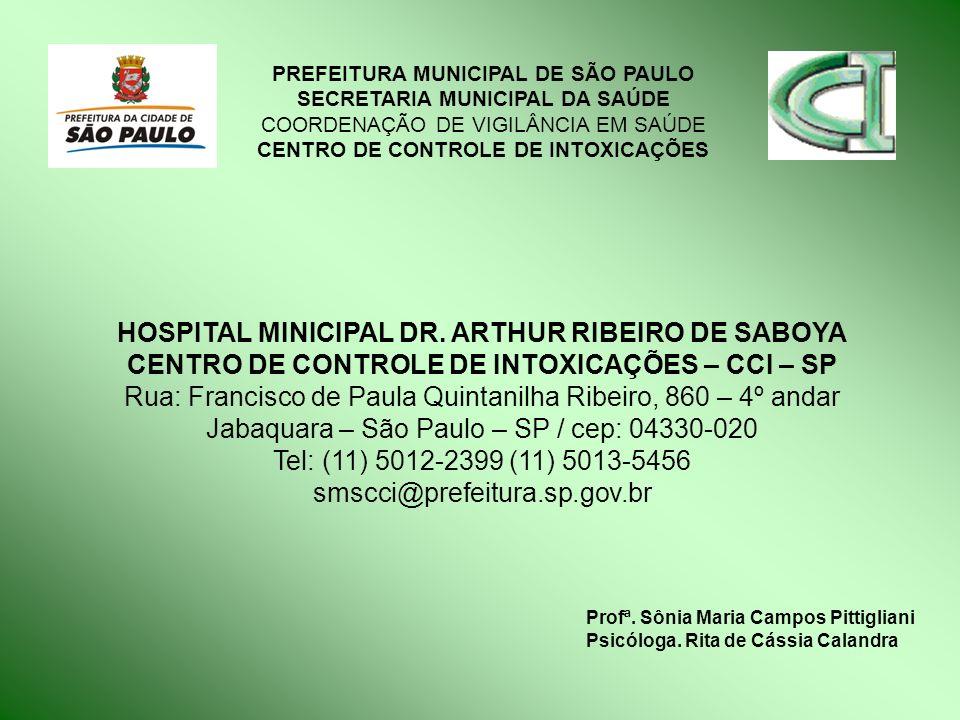 HOSPITAL MINICIPAL DR. ARTHUR RIBEIRO DE SABOYA