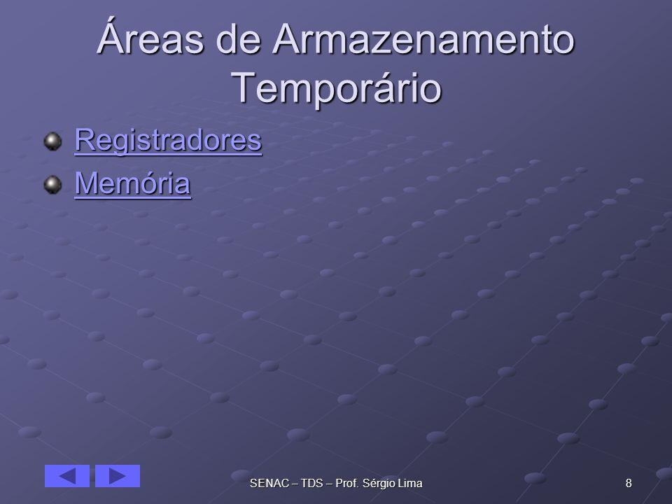 Áreas de Armazenamento Temporário