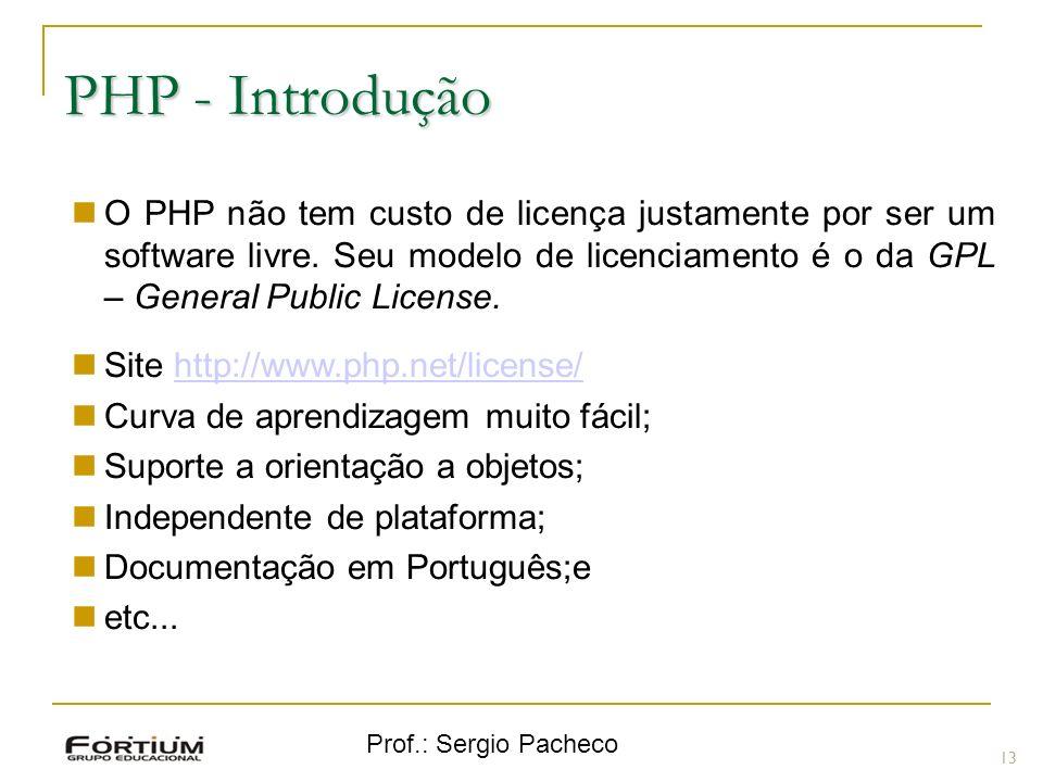 PHP - Introdução