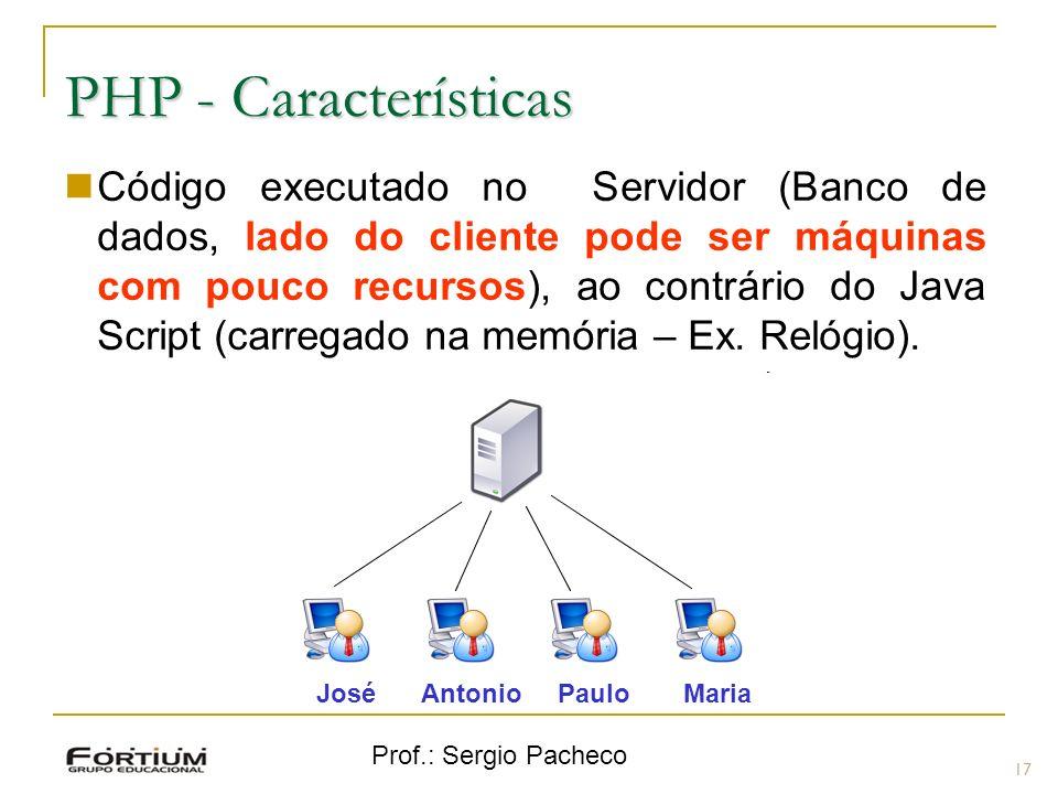 PHP - Características