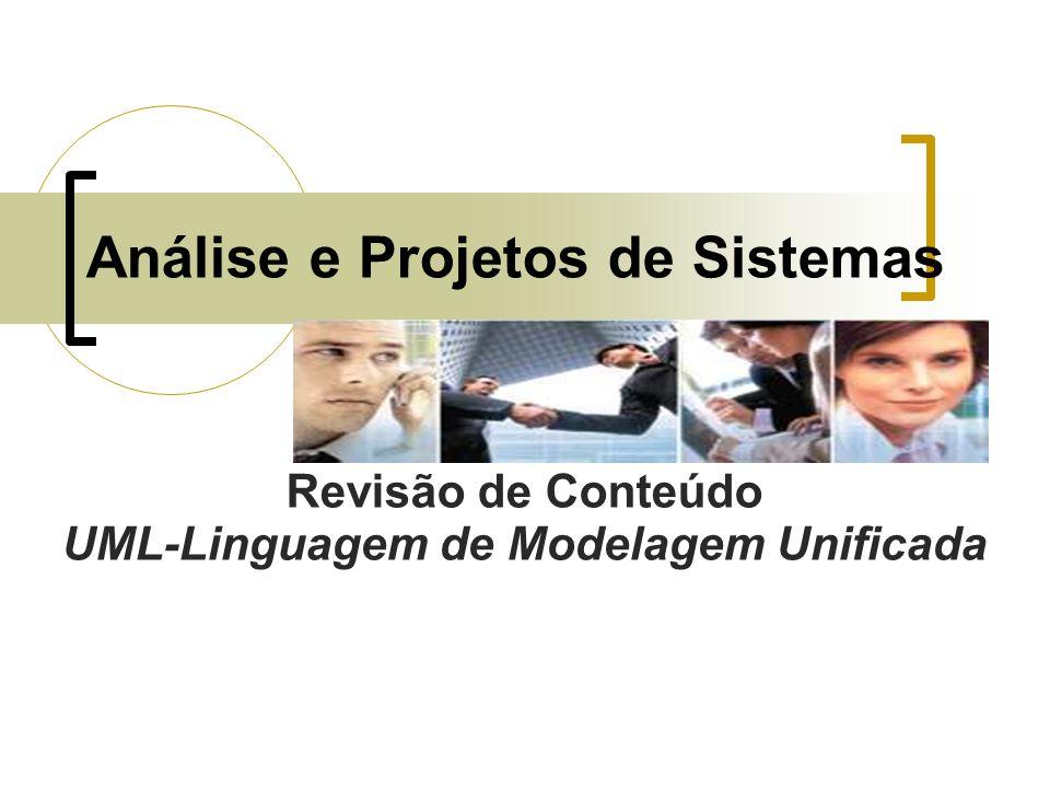 Análise e Projetos de Sistemas