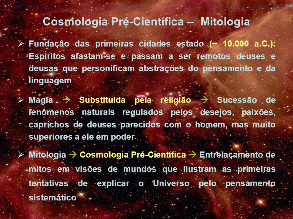 Cosmologia Pré-Científica – Mitologia