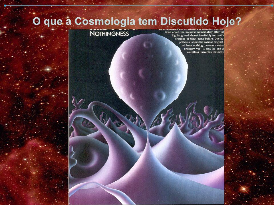 O que a Cosmologia tem Discutido Hoje
