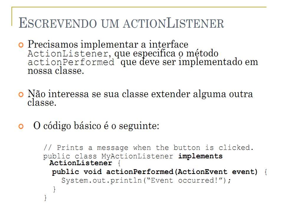 Eventos - Implementar Prof.: Sergio Pacheco 12 12