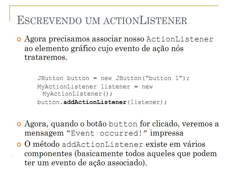 Eventos - Implementar Prof.: Sergio Pacheco 13 13