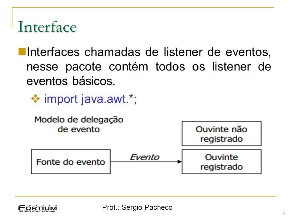 Interface Interfaces chamadas de listener de eventos, nesse pacote contém todos os listener de eventos básicos.