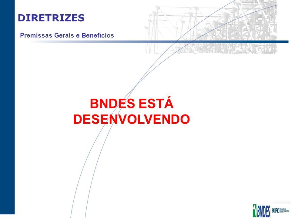 BNDES ESTÁ DESENVOLVENDO
