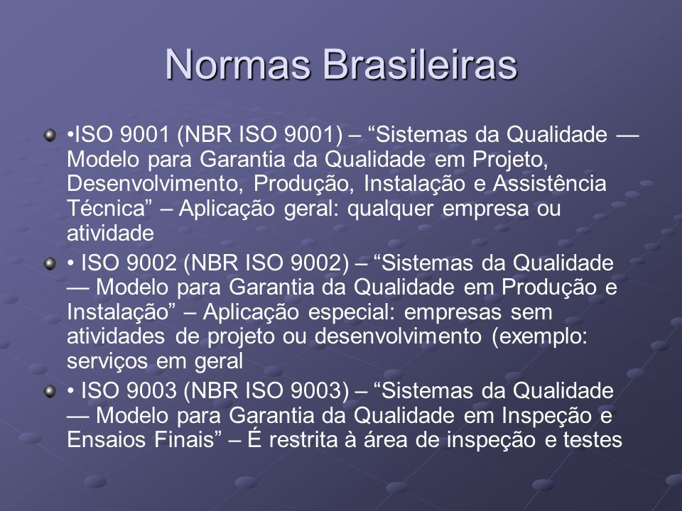Normas Brasileiras