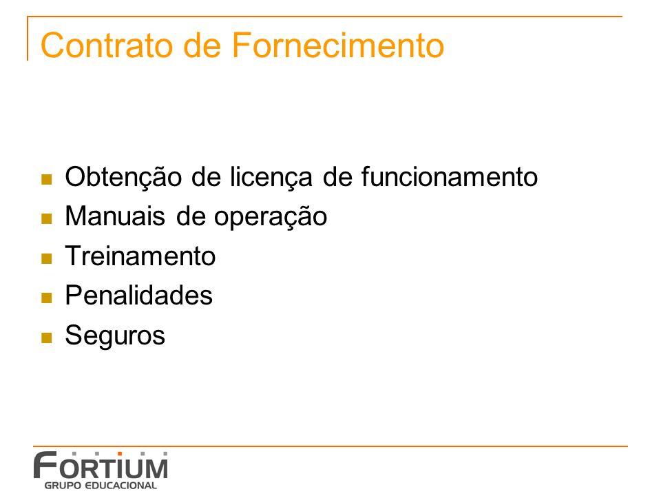 Contrato de Fornecimento