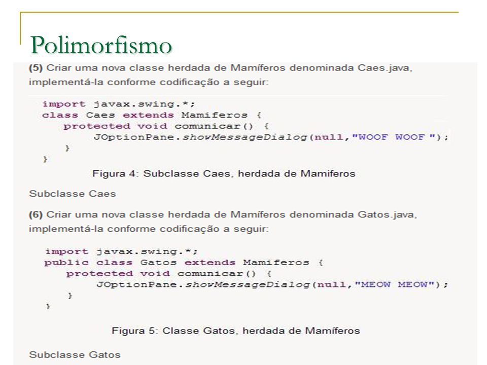 Polimorfismo Prof.: Sergio Pacheco 10 10