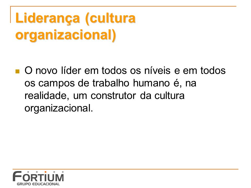 Liderança (cultura organizacional)