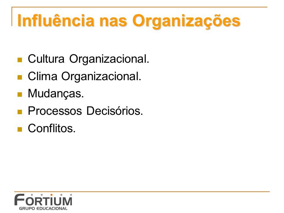 Influência nas Organizações