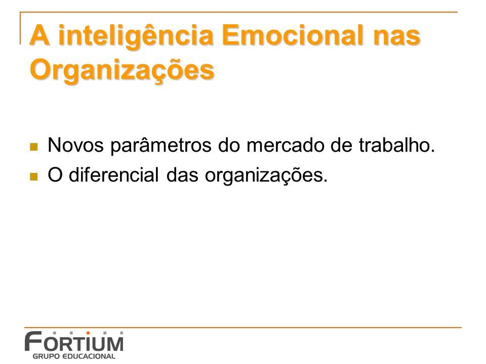 A inteligência Emocional nas Organizações