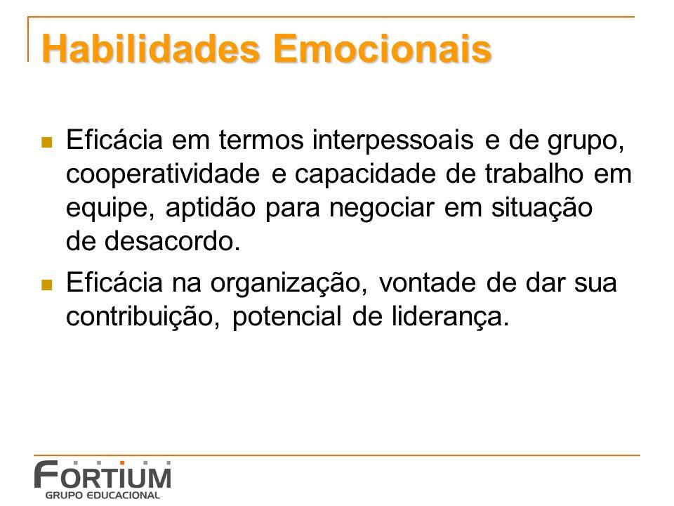 Habilidades Emocionais