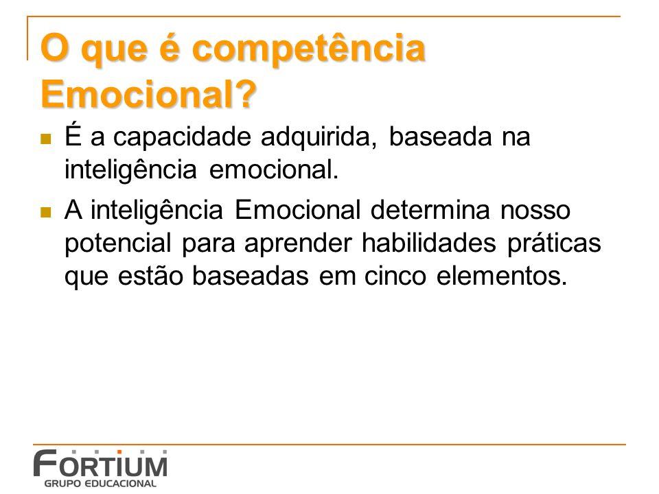 O que é competência Emocional