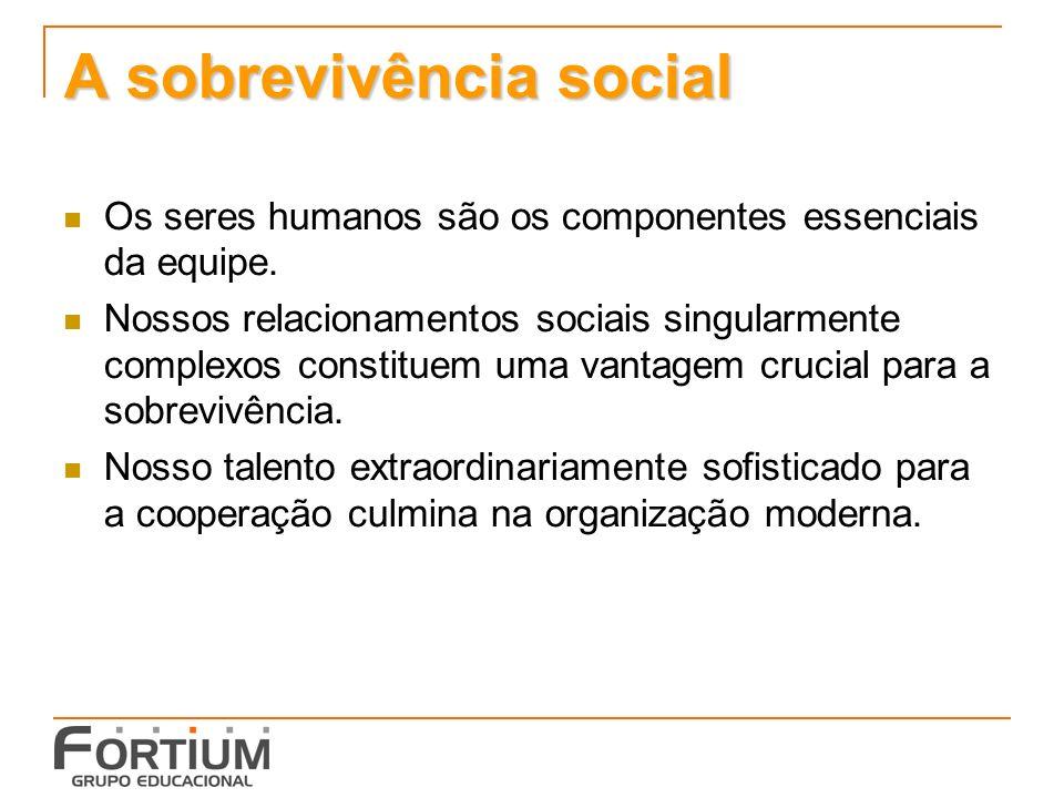 A sobrevivência social