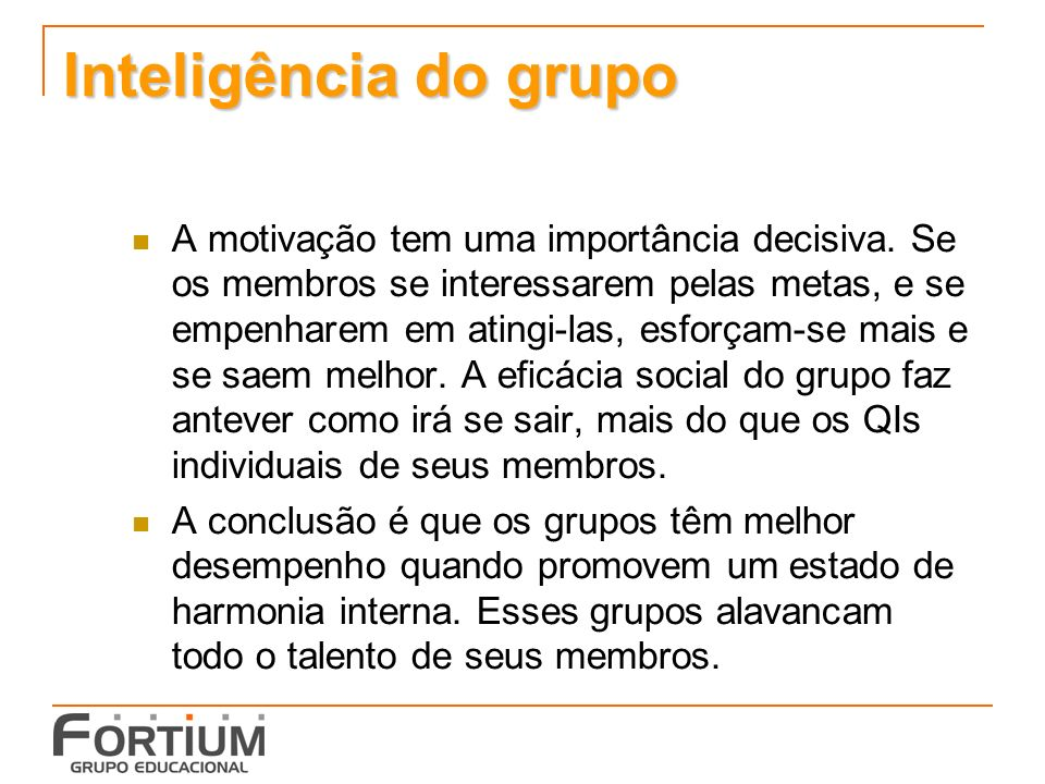 Inteligência do grupo
