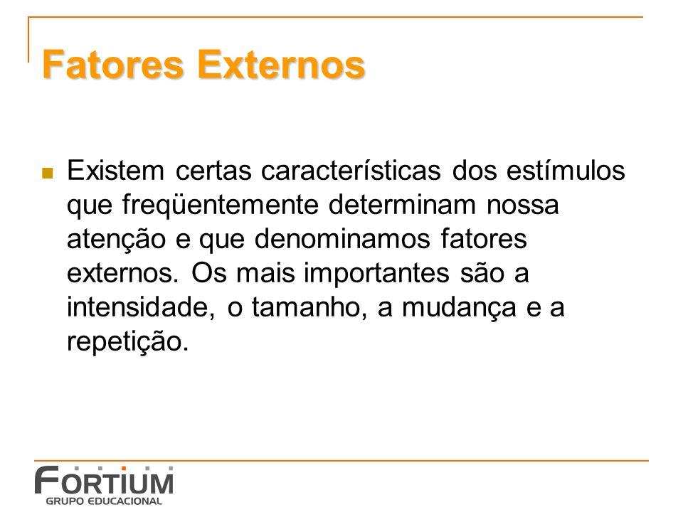 Fatores Externos