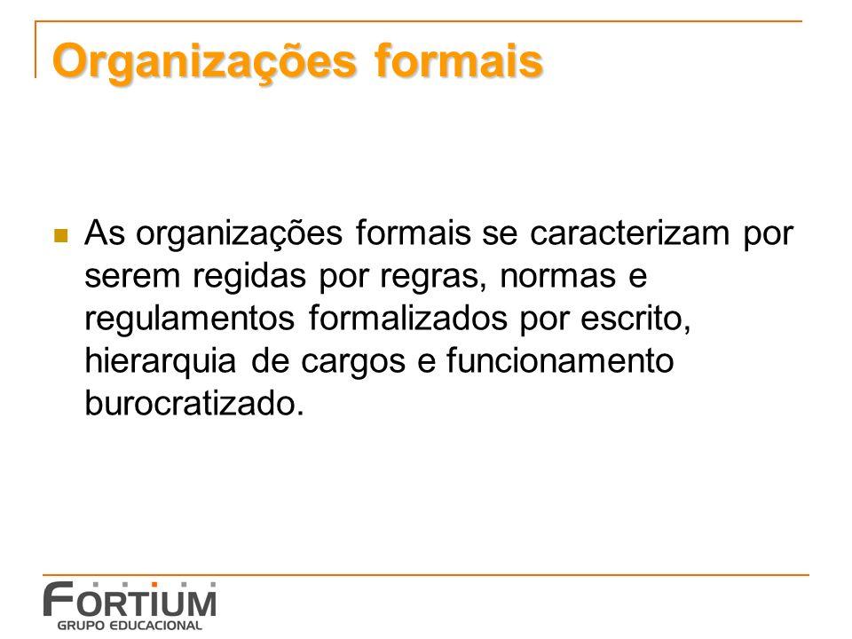 Organizações formais