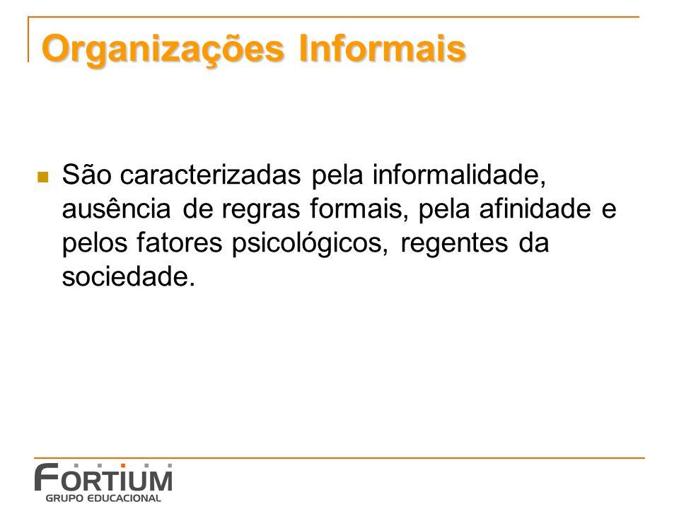 Organizações Informais