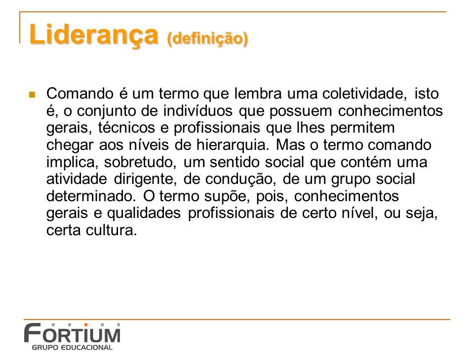 Liderança (definição)