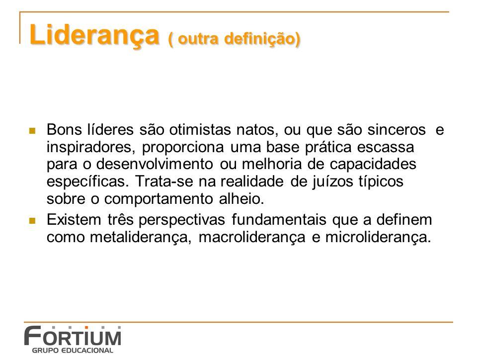 Liderança ( outra definição)