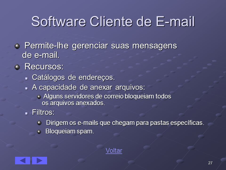 Software Cliente de E-mail