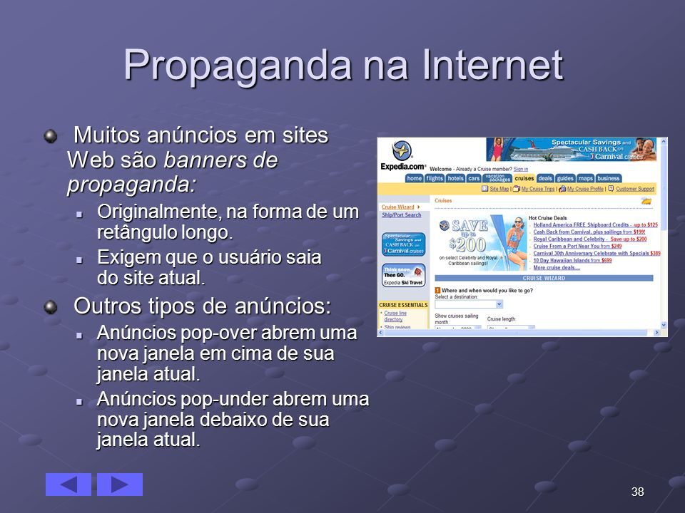 Propaganda na Internet