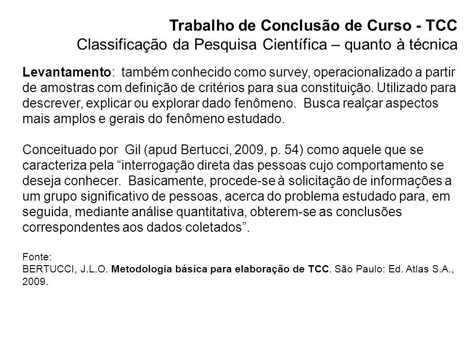 Trabalho de Conclusão de Curso - TCC