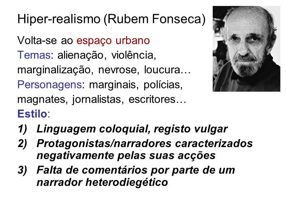 Hiper-realismo (Rubem Fonseca)
