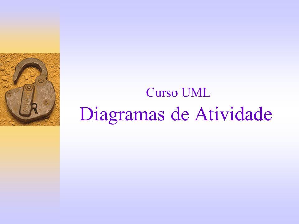 Curso UML Diagramas de Atividade