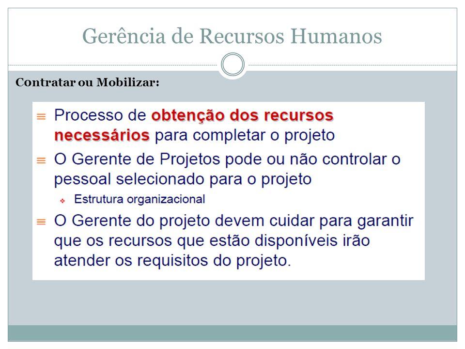 Gerência de Recursos Humanos