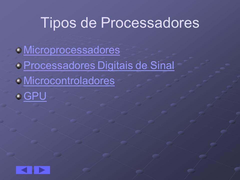 Tipos de Processadores