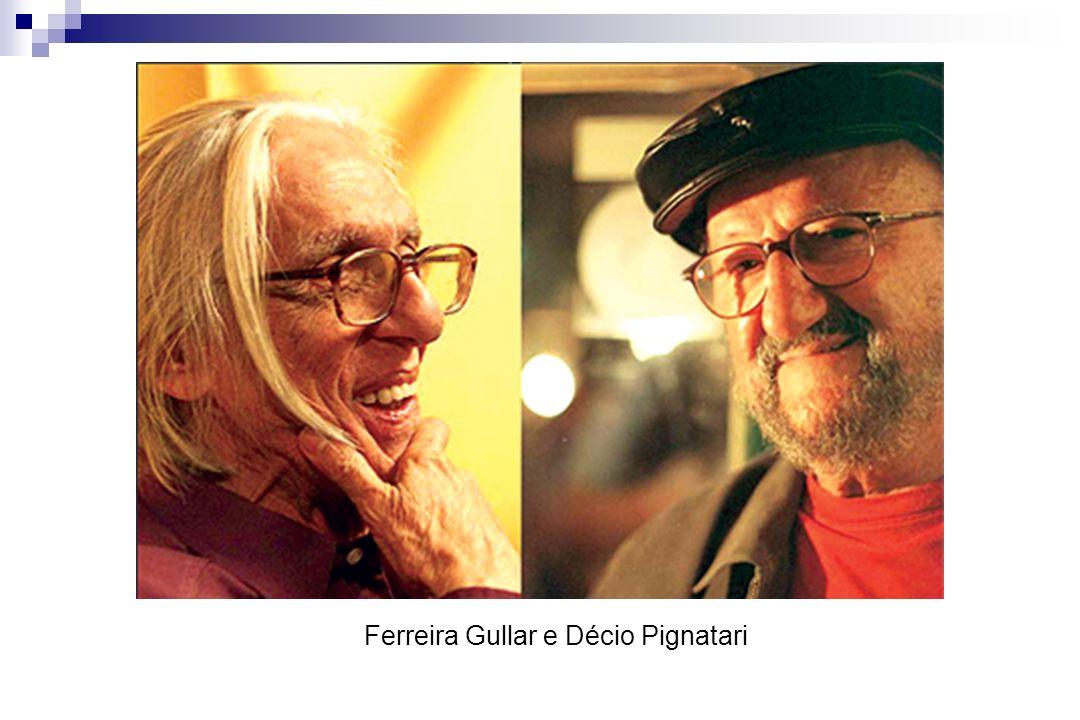 Ferreira Gullar e Décio Pignatari